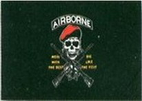 Flagge Fahne Pirat Airborne mess with the best