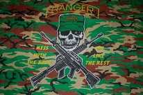 Flagge Fahne Ranger Camouflage