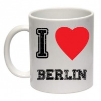 Tasse I Love Berlin Kaffeebecher 0,3l