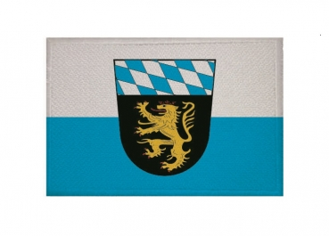 Aufnäher Patch Oberbayern Aufbügler Fahne Flagge