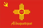 Flagge Fahne Albuquerque New Mexiko USA
